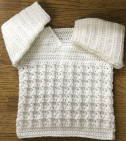 Cosy Cable Sweater For Baby or Child