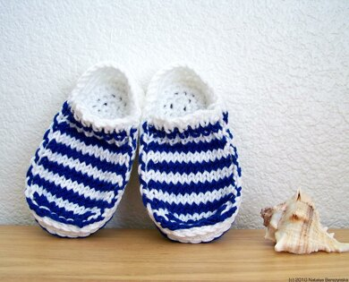 Baby Sailor Slippers