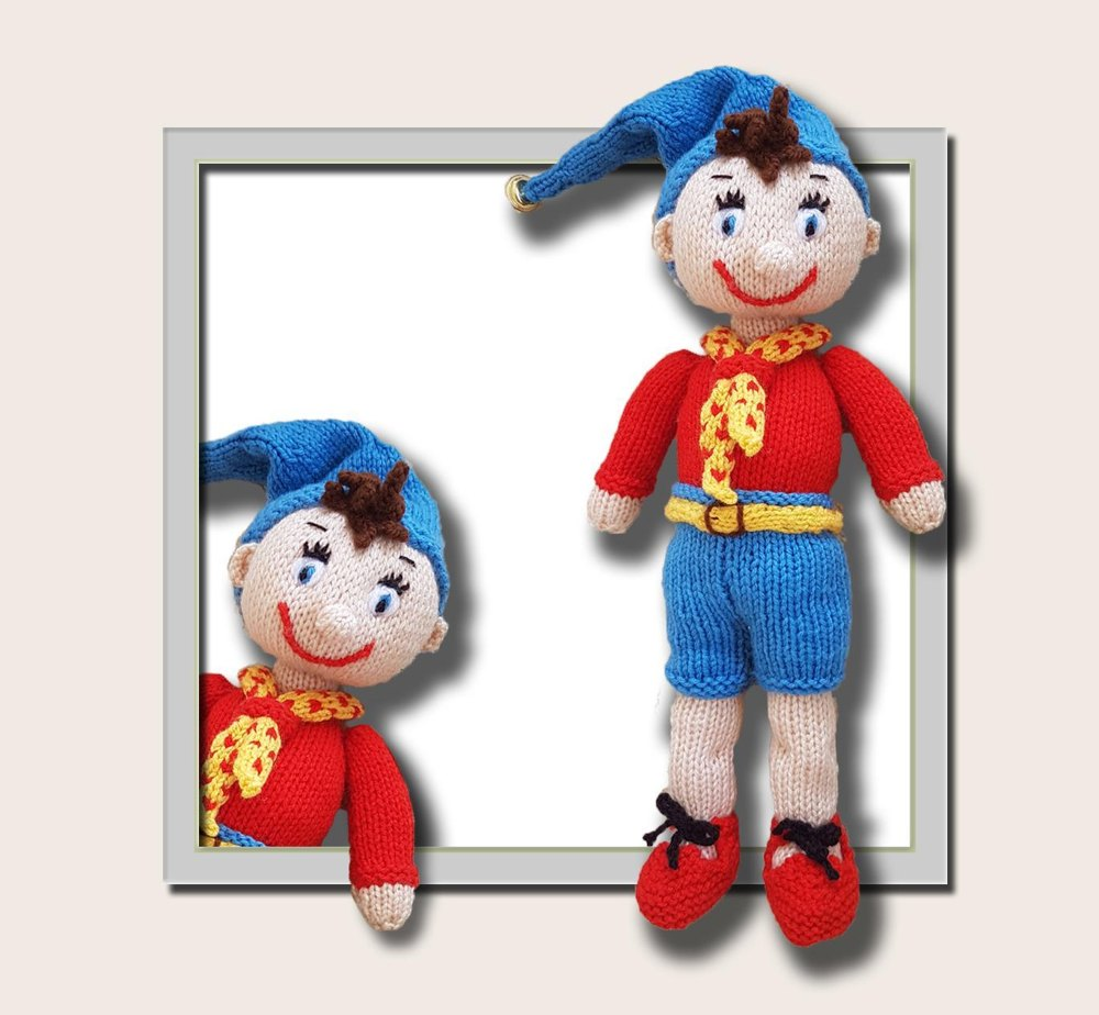 Noddy Doll Knitting Pattern : Niddy Noddy Toy Knitting pattern by T Bee Cosy