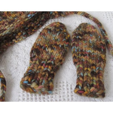 Thumbless Baby Mittens