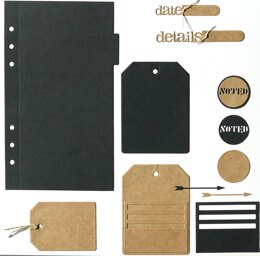 Elizabeth Craft Designs Elizabeth Craft Metal Die - Planner Essentials 2