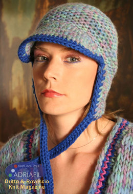 Montana Hat in Adriafil Felis and Globe Uni - Downloadable PDF