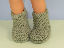 Simple Superfast Children's Garter Stitch Ankle Boots
