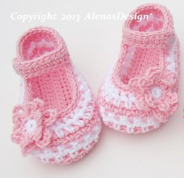 Crochet Baby Shoes - Jack & Jackie