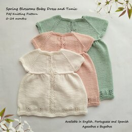 Spring Blossoms Baby Dress and Tunic