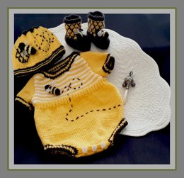 Honey Baby Romper Set