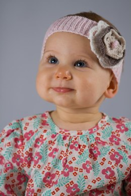 Layered Flower and Bow Headbands by Little Cupcakes - Bc37