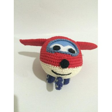 Super Wings Jet amigurumi Crochet pattern by iremDesign