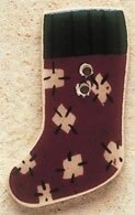 Mill Hill Button 43018 - Patch Stocking Visions of Christ