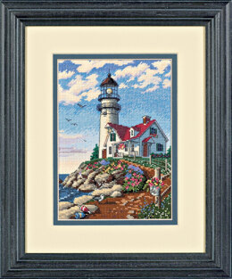 Dimensions Beacon At Rocky Cross Stitch Kit - 13cm x 18cm