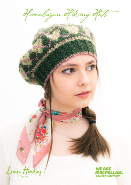 Annapurna Fairisle Heart Beret in Louisa Harding Grace - Downloadable PDF
