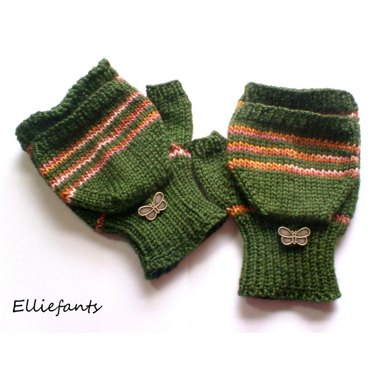 Flip Top Mitts
