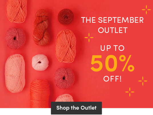 The September Outlet! Up to 50 percent off!