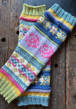 In Living Color Leg Warmers