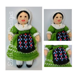 French Folk Doll