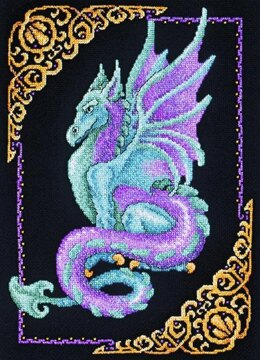 Janlynn Corporation Mystical Dragon Cross Stitch Kit