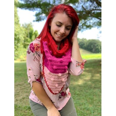 Popping Bobbles Scarf