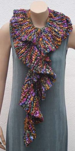 Flounced Scarf (FP3) in Prism Yarns Galaxy