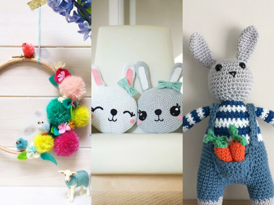 Spring into Easter, with our beautiful selection of Easter crochet patterns!