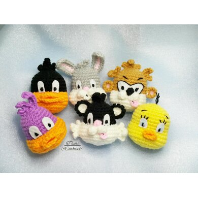 Looney Tunes Brooches Pattern