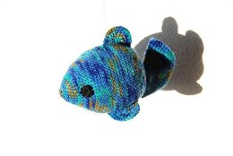 Freddie the Fish Crochet Pattern, Fish Amigurumi Pattern