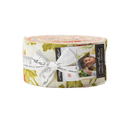 Moda Fabrics Scarlet and Sage 2.5in Strip Roll