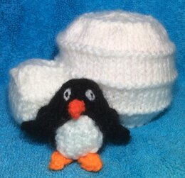 Igloo with Penguin