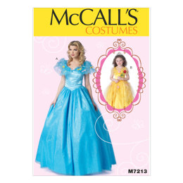 McCall's Floor-Length Dress with Full Skirt M7213 - Sewing Pattern