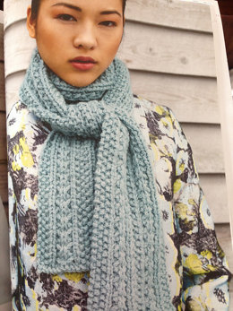 Scarf in Debbie Bliss Paloma