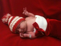 Candy Cane Topper