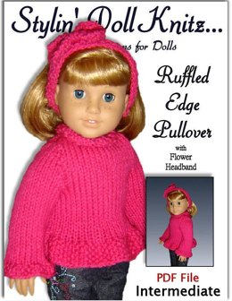 Knitting Pattern for 18 inch (American Girl Doll) 042
