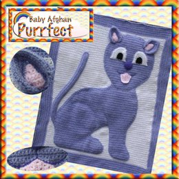 Animal Baby Blanket - Purrfect