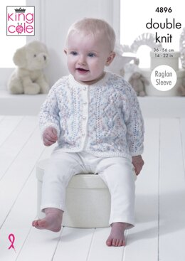 Baby Set in King Cole DK - 4896 - Downloadable PDF