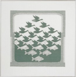 Permin Bird & Fish Cross Stitch Kit