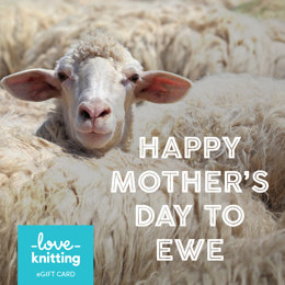 LoveKnitting eGift Card - Mother's Day