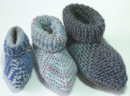 Mitred Square Baby Boots 016
