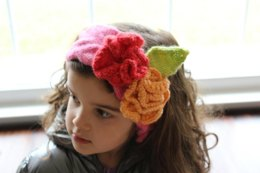 Toddler Flower Headband