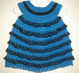 Aqua Dreams Baby Dress