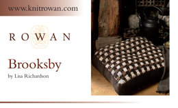 Brooksby Floor Cushion Cover in Rowan British Sheep Breeds Chunky