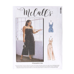 McCall's Misses' Jumpsuits M8101 - Sewing Pattern