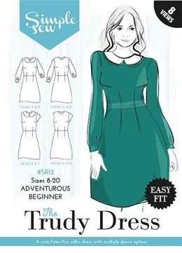 Simple Sew Patterns The Trudy Dress SR12 - Sewing Pattern