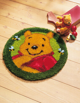 Vervaco Disney Winnie the Pooh Latch Hook Rug Kit