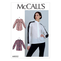 McCall's Misses' Blouses M8002 - Sewing Pattern