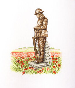 Creative World of Crafts In Flanders Fields Cross Stitch Kit - One Size
