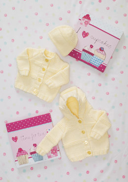 Cardigans & Hat in Stylecraft Special Baby Chunky - 8491