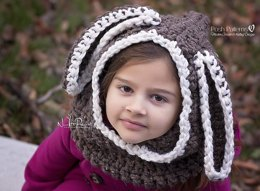Bunny Hooded Cowl 337
