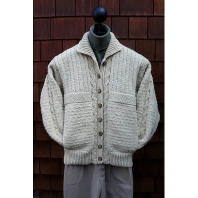 Mari Sweaters MS 187 Cables & Purls Jacket