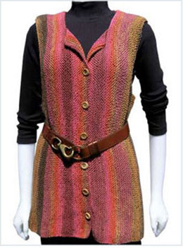 Charlie Vest in Knit One Crochet Too Ty-Dy - 1480