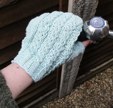 Pendleton Fingerless Cycling Mitts