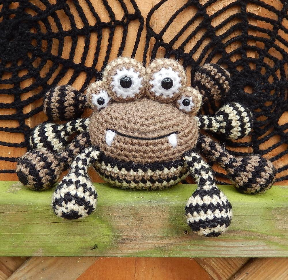 Spencer The Spider And Friends Crochet Pattern By Moji